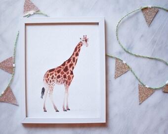 Giraffe Print - 8x10