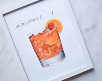 Old Fashioned - 8x10 Print
