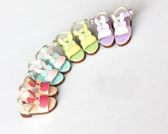 Rabbit Sandals shoes for Blythe/DAL/Pullip/Momoko/AZONE/OB/Lati/Pukifee