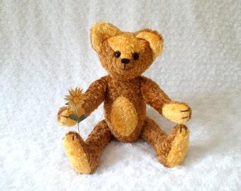 OOAK artist bear Lucky Bekkiebears