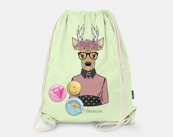 Bag-backpack Lovely Deer