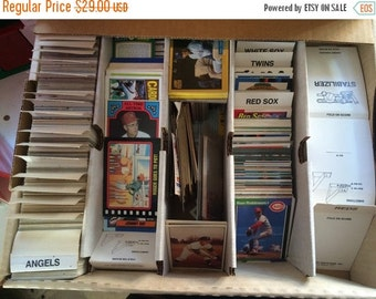 Sale 1970s/1980s baseball trading cards