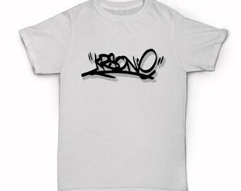 KRS One T-Shirt - Classic Old School Golden Era Hip Hop - Tag - Graffiti - BDP Return Of The Boom Bap