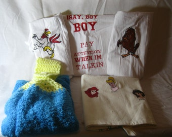 Kitchen Cartoon Dishcloth Bundle