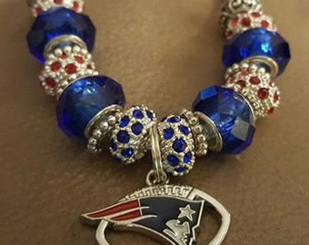 New England Patriots Charm Bracelets and Bangle Bracelets