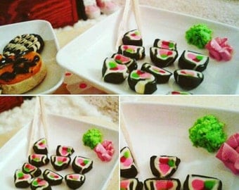Miniature Polymer Clay Sushi For MSD SD BJD.