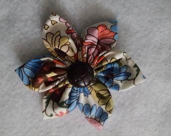 Cute Fabric Flower Clip