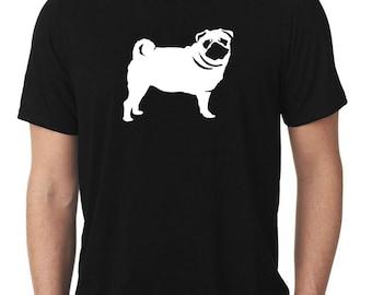 Pug T-Shirt T287