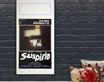 Locandina Originale Suspiria 33x70 CM - Dario Argento