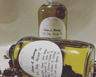 Anne & Henry Bath Oil, Massage Oil, Body Oil, Vegan, Organic