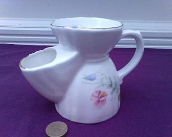 Vintage Shaving Mug - G.L.M. fine bone china floral design