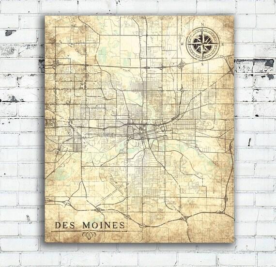 Large Printable Map Iowa – BK3