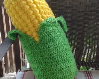 Large Crochet Corn on the Cob Pillow/Plushy