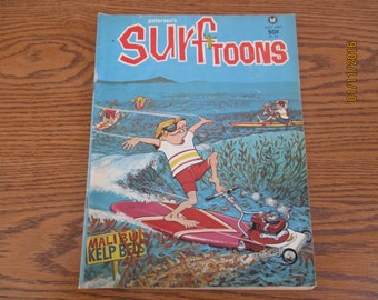 Petersen's Surftoons Comic Book July 1967