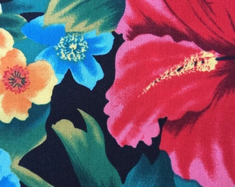 FF52 Michael Miller (7 HALF yards available) Tropical Hawaiian Fabric
