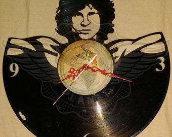 Vinyl Wall Clock JIM MORRISON