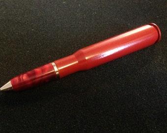 50cal Twist red powder coat (engraveable)