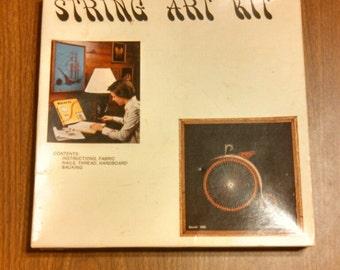 vintage String Art, Wire Art Kit, Bicycle