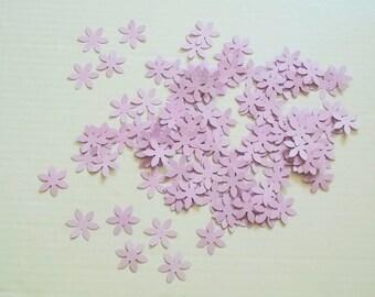 Purple Flower Confetti - Table Decoration, Party Decoration