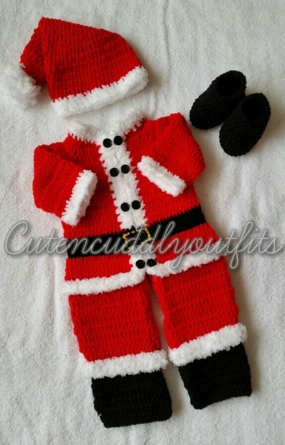 Free Crochet Patterns For Newborn Baby Boy Booties : Crochet baby pattern Crochet baby boy by CutenCuddlyOutfits