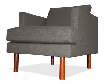 Clark Arm Chair in Mouse