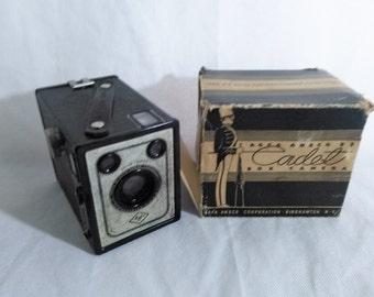 Vintage Ansco Shur Shot  Camera in original box, Photography, Decor