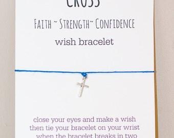 Cross Wish Bracelet