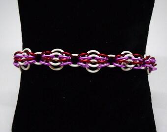 Butterfly Weave Bracelet, customize, personalize, Chainmail bracelet, Customizable Bracelet