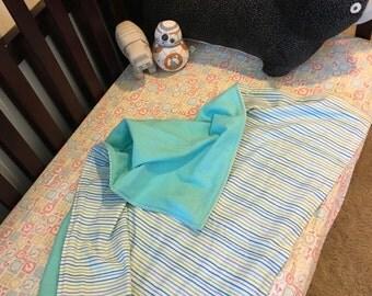 Blue Stripes Blanket