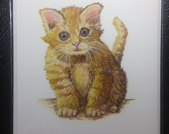 Cute Kitten Card 5x7