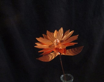 Hand Crafted Copper Daisy