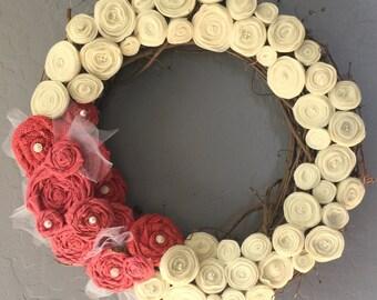 Everyday Rosette Wreath