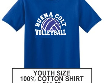 Buena Volleyball YOUTH sized tee