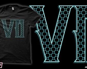 Seven.7.VII - Final Fantasy VII T-Shirt