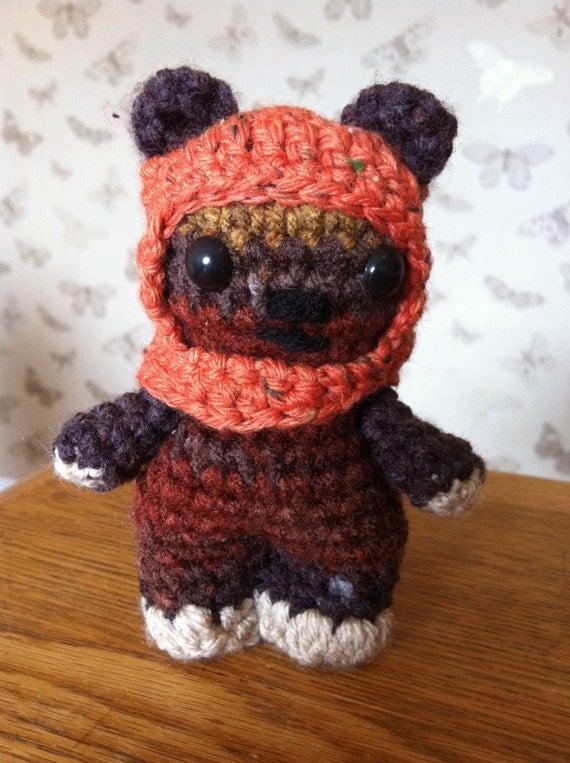 Ewok Crochet Amigurumi : Amigurumi Crochet cutie Wicket the Ewok from by ...