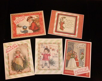 Christmas Cards-Vintage Style_I