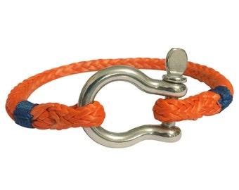 Lifelines Apparel: Vang Bracelet, Rope Bracelet, Shackle Bracelet, Anchor Bracelet, Nautical Bracelet, Survival Bracelet