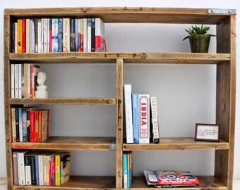 TRUMAN   Reclaimed Wood Bookcase - Handmade & Bespoke
