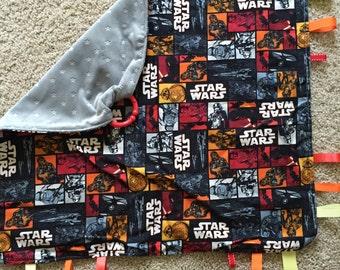 Star Wars Ribbon Blanket