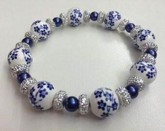 Happiness in Bloom Flower Bracelet
