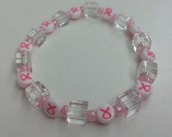 Pink Hope-Breast Cancer Bracelet