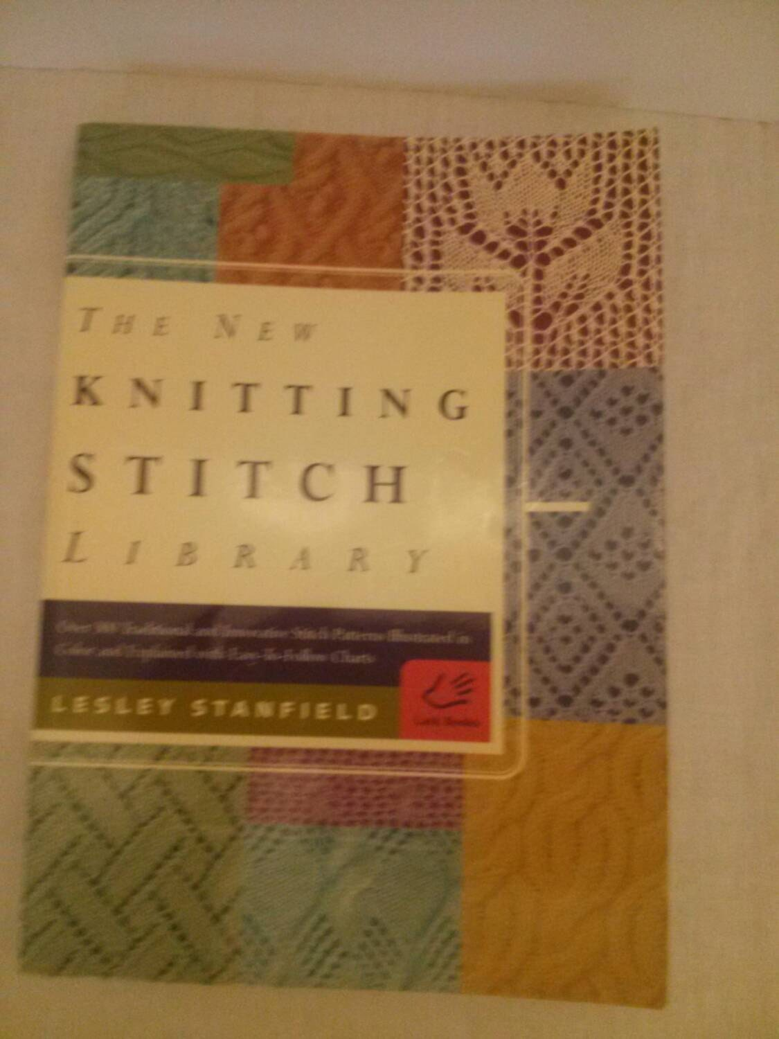 The New Knitting Stitch Library soft cover book by Artsthrift