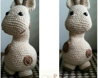 Handmade Crochet Giraffe| Soft Giraffe Toy | RTS