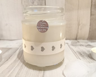 Thank You for sharing our day Scented Soy Candle