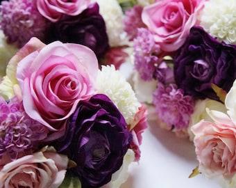 Wedding Bouquet, Flower Girl Bouquet