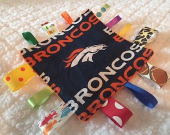 Denver Broncos Crinkle Sensory Toy