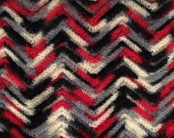 Vintage Handmade Wool Blanket