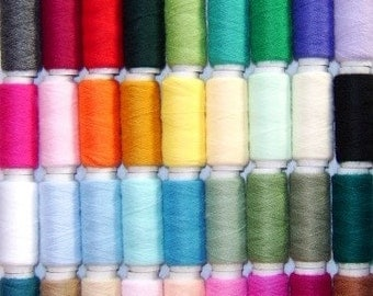 100 Bumper Pack British Punch Needle Embroidery Yarn Pack of Acrylic with Free Transfer Pack by Webster's