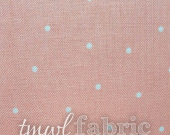 Woven Fabric - Brother Sister Designs Pink Pin Dot - Fat Quarter Yard +