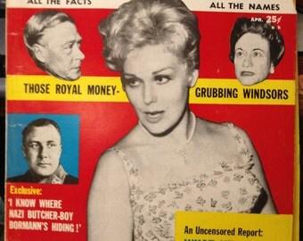 Uncensored  Magazine  1962  April